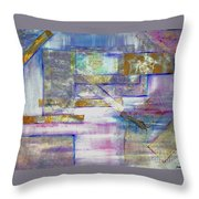 Pieces Of April Throw Pillow