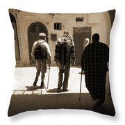 Pied A Terre Throw Pillow