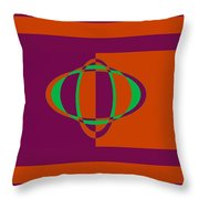 Pied Piper Design Throw Pillow