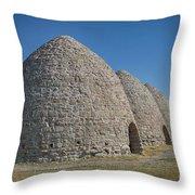 Piedmont Kilns Throw Pillow