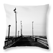Pier And Pelican Throw Pillow