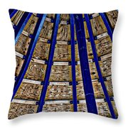 Pier Ceiling Throw Pillow