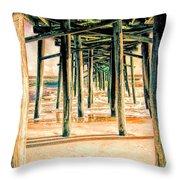 Pier Crisscross Throw Pillow