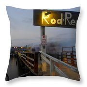 Pier Group Throw Pillow