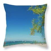 Pier Marquette Throw Pillow