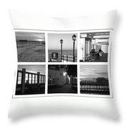 Pier Moods Throw Pillow