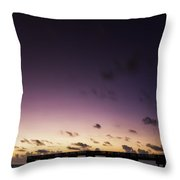 Pier Moon And Venus Throw Pillow