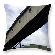 Pier Passage Throw Pillow
