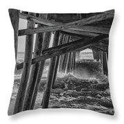 Pier Storm Throw Pillow