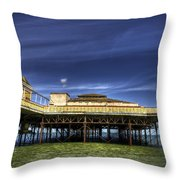 Pier Structure Throw Pillow