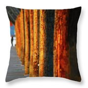 Pier Symmetry 2 Throw Pillow