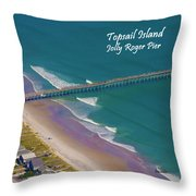 Pier Tastic Throw Pillow