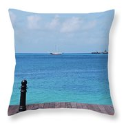 Pier View Throw Pillow