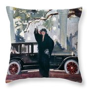 Pierce-arrow Ad, 1925 Throw Pillow