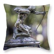 Pierce Arrow Hood Ornament Throw Pillow