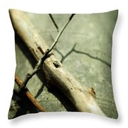 Piercing Body And Soul Throw Pillow by Rebecca Sherman