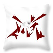 Piercing Stares Throw Pillow