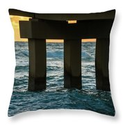Pierlines Throw Pillow