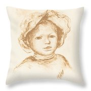 Pierre Renoir Throw Pillow