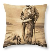 Pierre Savorgnan De Brazza Throw Pillow