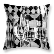 Pierrot Throw Pillow