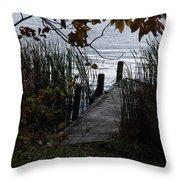 Pier's End Throw Pillow