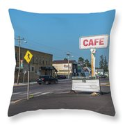 Pies At The Cafe Throw Pillow