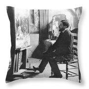 Piet Mondrian (1872-1944) Throw Pillow