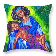 Pieta-2 Throw Pillow