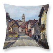 Pieve Di Limana Throw Pillow