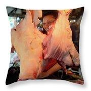 Pig Zedz Throw Pillow