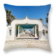 Piges Kallitheas In Rhodes - Greece. Throw Pillow