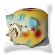 Piggy Throw Pillow