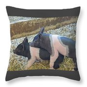 Piggyback Throw Pillow