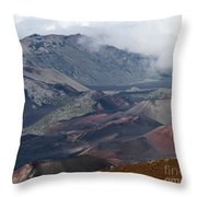 Pihanakalani Haleakala House Of The Sun Summit Maui Hawaii Throw Pillow