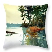Pike Alley Throw Pillow
