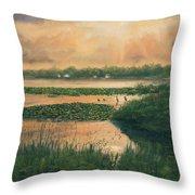 Pike Lake Throw Pillow