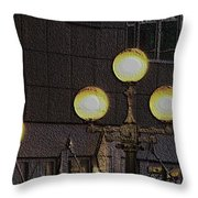 Pike Lights  Throw Pillow
