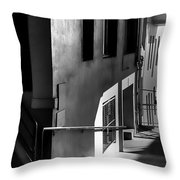 Pike Place Corridor Throw Pillow