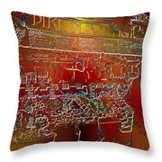 Pike Place Fish Throw Pillow