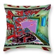 Pike Place Market 2 Throw Pillow