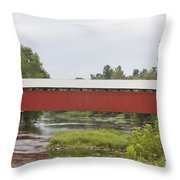Pike River Canada Throw Pillow