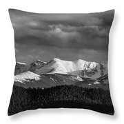 Pike's Peak Or Bust Throw Pillow