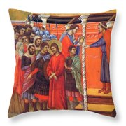 Pilate Washes His Hands 1311 Throw Pillow