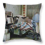 Pile And Pile 1 Throw Pillow