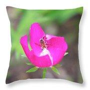 Pile O' Pollen Throw Pillow