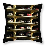 Piled High  Throw Pillow