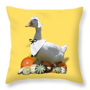 Pilgrim Duck Throw Pillow