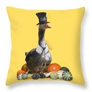 Pilgrim Goose Throw Pillow