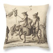Pilgrimage To French Bucholz Throw Pillow